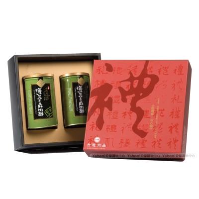 台糖安心豚 海苔芝麻肉酥禮盒3盒(200gx2罐)