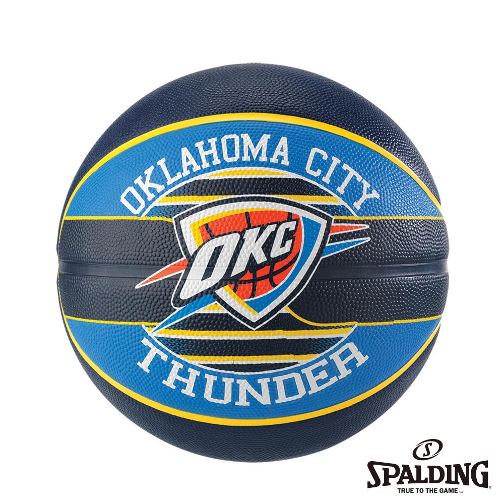 SPALDING 斯伯丁 NBA 隊徽球 雷霆 Thunder 籃球 7號