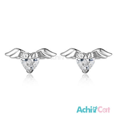 AchiCat 925純銀耳環 愛天使