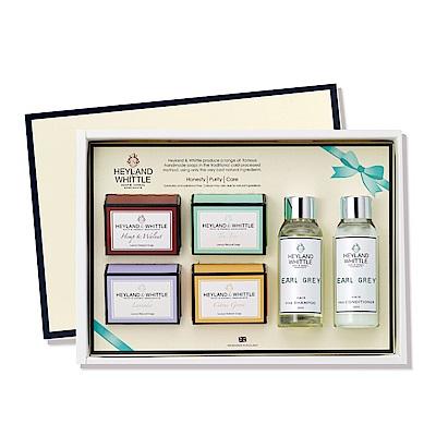 H&W英倫薇朵 典藏寵愛香氛沐浴禮盒(四款任選)