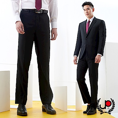 極品西服 形色簡約素色仿毛平面西褲_黑色(BS731-<b>1</b>)