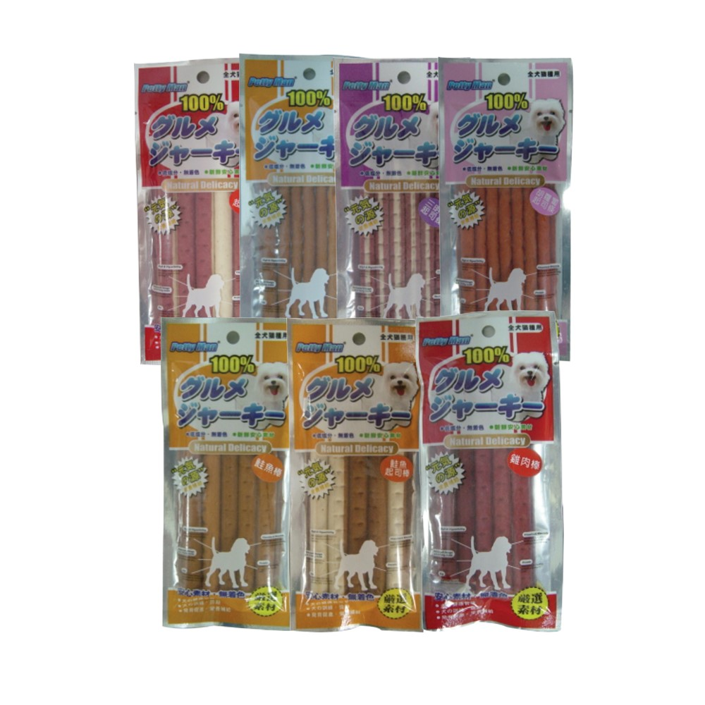 PettyMan 肉條 小包裝 9種口味 (10包組)