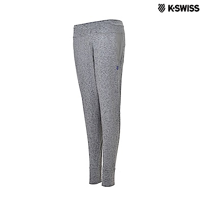 K-Swiss Track Knit Pants運動長褲-女-灰