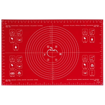 法國mastrad 大桿麵墊(紅) (8H)