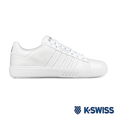 K-swiss Pershing Court CMF 休閒運動鞋-男-白
