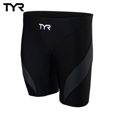 美國TYR男用訓練及膝泳褲Aura Jammer Gray 台灣總代理