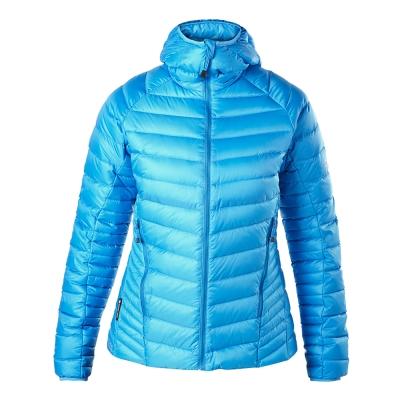 【Berghaus貝豪斯】女款Pertex溫度調節鵝絨外套F22FM1-淺藍