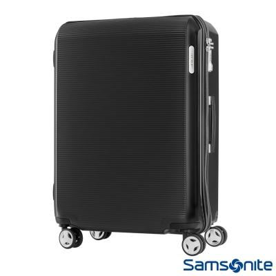 Samsonite 新秀麗 28吋ARQ 2/8開懸吊抗震減音PC硬殼行李箱(石墨黑)