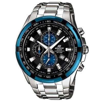 EDIFICE 耀眼科技主義賽車IP離子計時錶(EF-539D-1A2)-藍/48.5mm