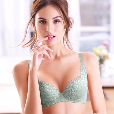 黛安芬-超值美選雅緻Bra-B-E罩杯內衣-綠