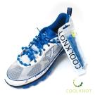 COOL KNOT 豆豆免綁彈性鞋帶(天藍白)CK15-10(75cm)