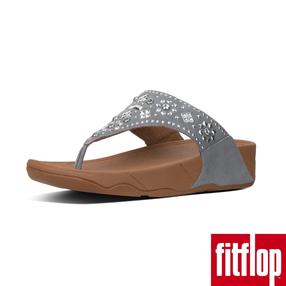 FitFlop LULU AZTEK STUD TOE-THONG藍