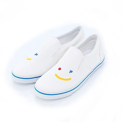 FILA KIDS #FUN開心 休閒鞋-白 3-C460S-131