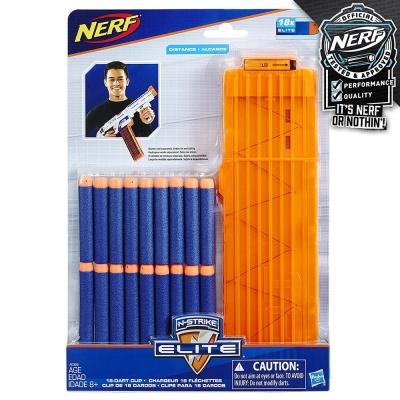 孩之寶Hasbro NERF系列 兒童射擊玩具 菁英系列 ELITE 彈匣組 A0356