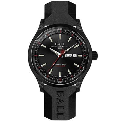 BALL波爾 ENGINEER II系列 VOLCANO自動機械腕錶 -黑色/45mm