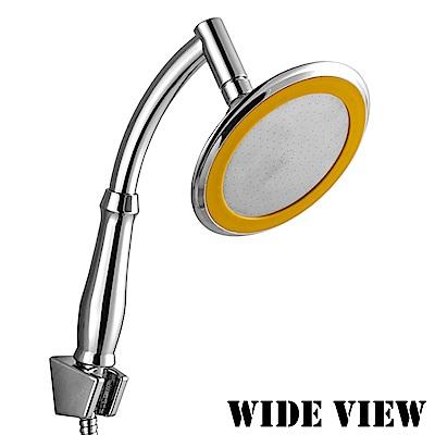 WIDE VIEW 360度萬向兩用6吋增壓淋浴蓮蓬頭蛇管組(ZU-SH07-P)