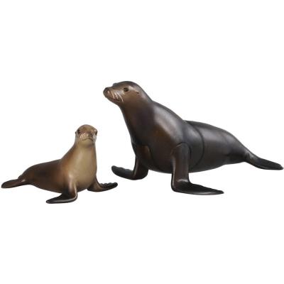 TOMICA多美動物園-AS21-海獅-附小海獅