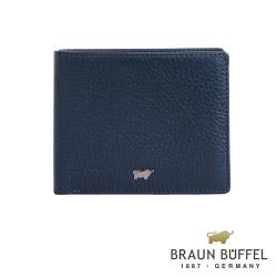 BRAUN BUFFEL - PLAYA佩雅系列8卡皮夾 - 沉穩藍