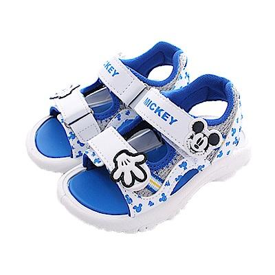 迪士尼米奇運動涼鞋 白藍 sk0442 魔法Baby