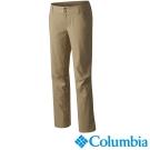 【Columbia哥倫比亞】女-防潑防曬50長褲-棕褐色 UAL87610TN