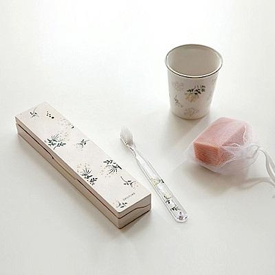 Dailylike 攜帶式紫外線UV牙刷殺菌盒-06 蕾絲花