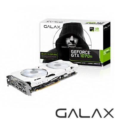 GALAX GeForce GTX 1070 Ti EX SNPR WHITE 8G顯示卡
