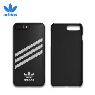 adidas iPhone 7 plus 經典三條紋 貼皮背蓋