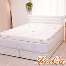 LooCa 頂級睡眠10cm一體成型乳膠床墊 加大6尺