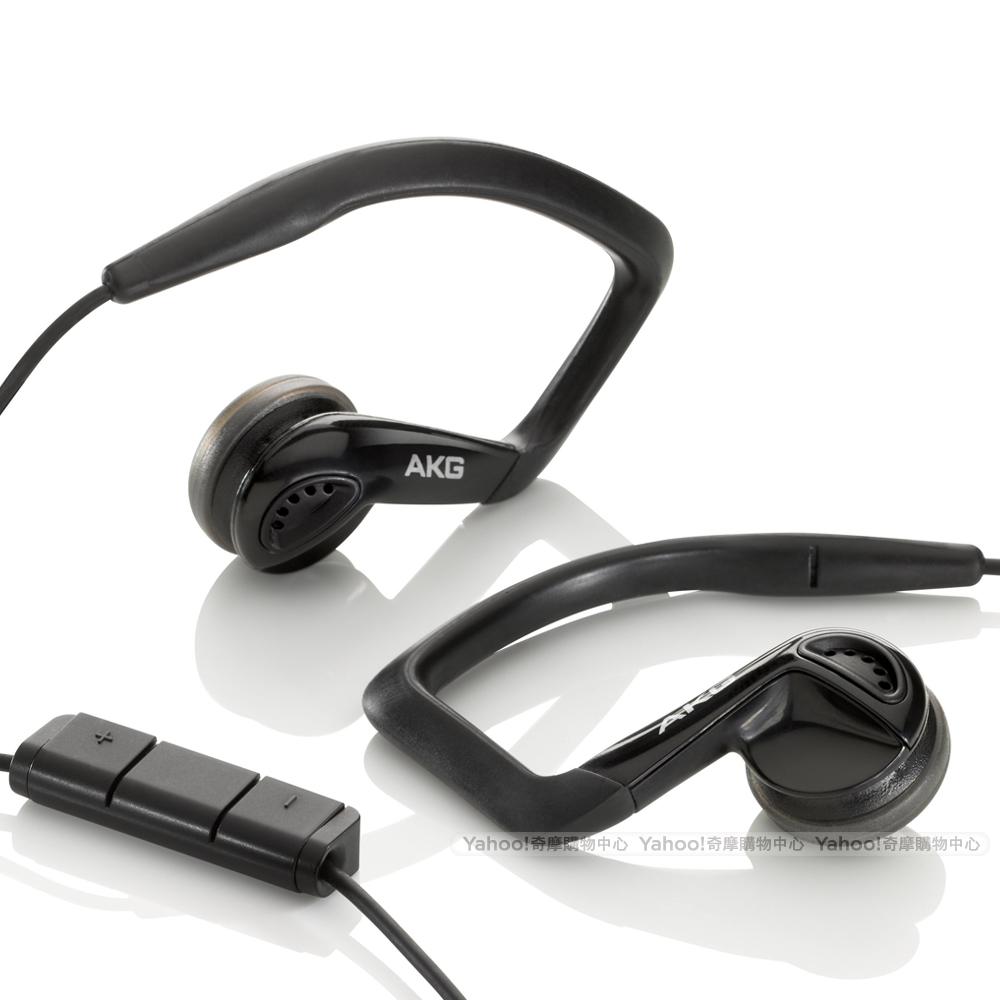 AKG K326 Sport Headset  黑色運動款 iPhone耳機