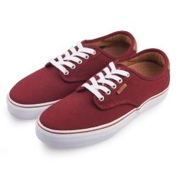 (男)VANS Chima Ferrguson Pro 經典素色休閒鞋*紅色