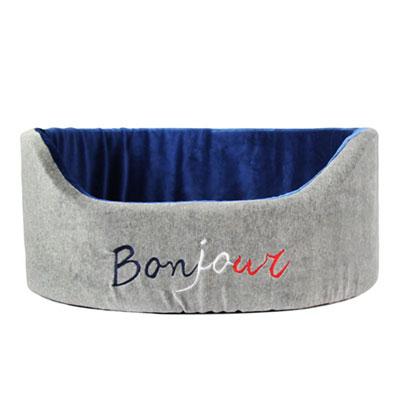 Yvonne CollectionBonjour寵物籃-暗灰