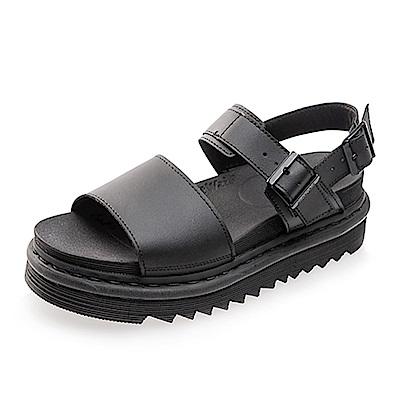 (女) Dr.Martens VOSS 扣環寬帶涼鞋*黑色