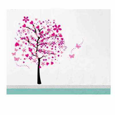 B-083花草系列-甜蜜花樹 大尺寸高級創意壁貼 / 牆貼