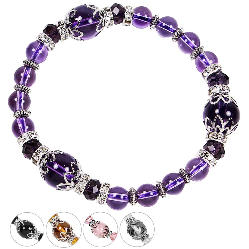 A1寶石  雙倍吸金-招財開運晶鑽水晶手鍊-五款任選(含開光加持)
