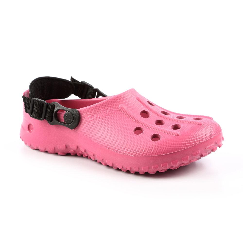 勃肯birki's 067383。Fun-Air BS 洞洞鞋(粉玫瑰色)