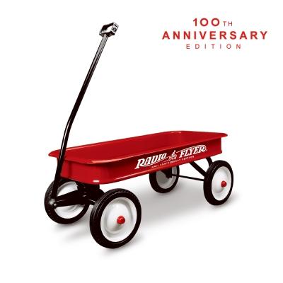 美國【RadioFlyer】飛行者復刻經典拖車-100週年紀念款(17M+)