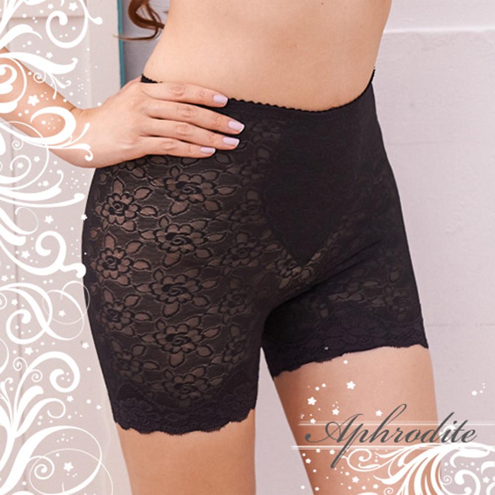 塑身褲雅媚輕機能平口修飾褲黑(2件)艾芙洛