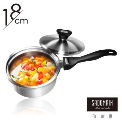 仙德曼 SADOMAIN 316七層複合金片手鍋18cm