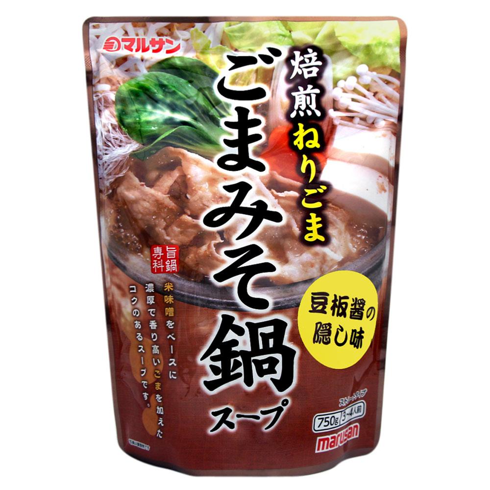 丸三 芝麻風味味噌火鍋湯底(750g)