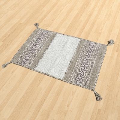 【Ambience】Kilim 手織純棉地毯 -駝色 (60x90cm)