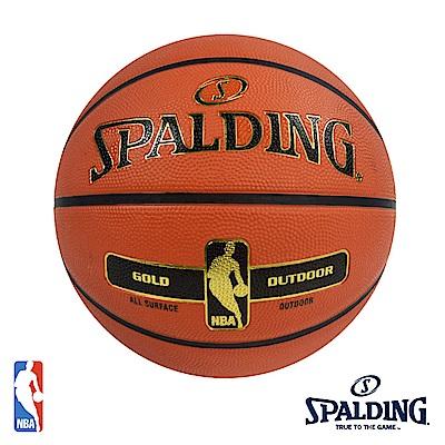 SPALDING New金色NBA - Rubber #7 籃球 SPA83492
