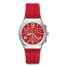 Swatch 就是SWATCH ROUGE DE BIENNE 紅色鐫刻手錶
