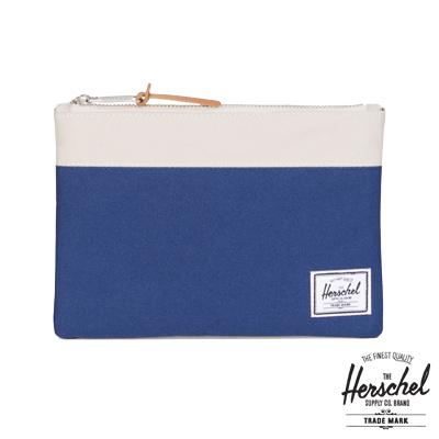 Herschel Field Pouch 手拿袋-藍色拼接