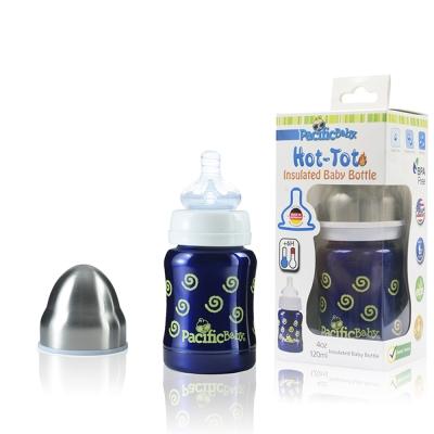 Pacific Baby 美國不鏽鋼奶瓶4oz-兒童水壺(多款)