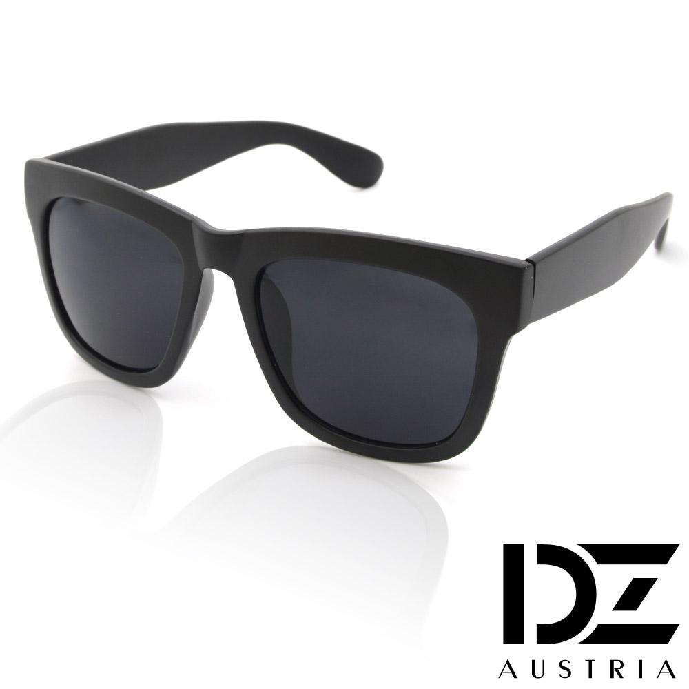 DZ 摩登風潮 抗UV太陽眼鏡造型墨鏡(霧黑系)
