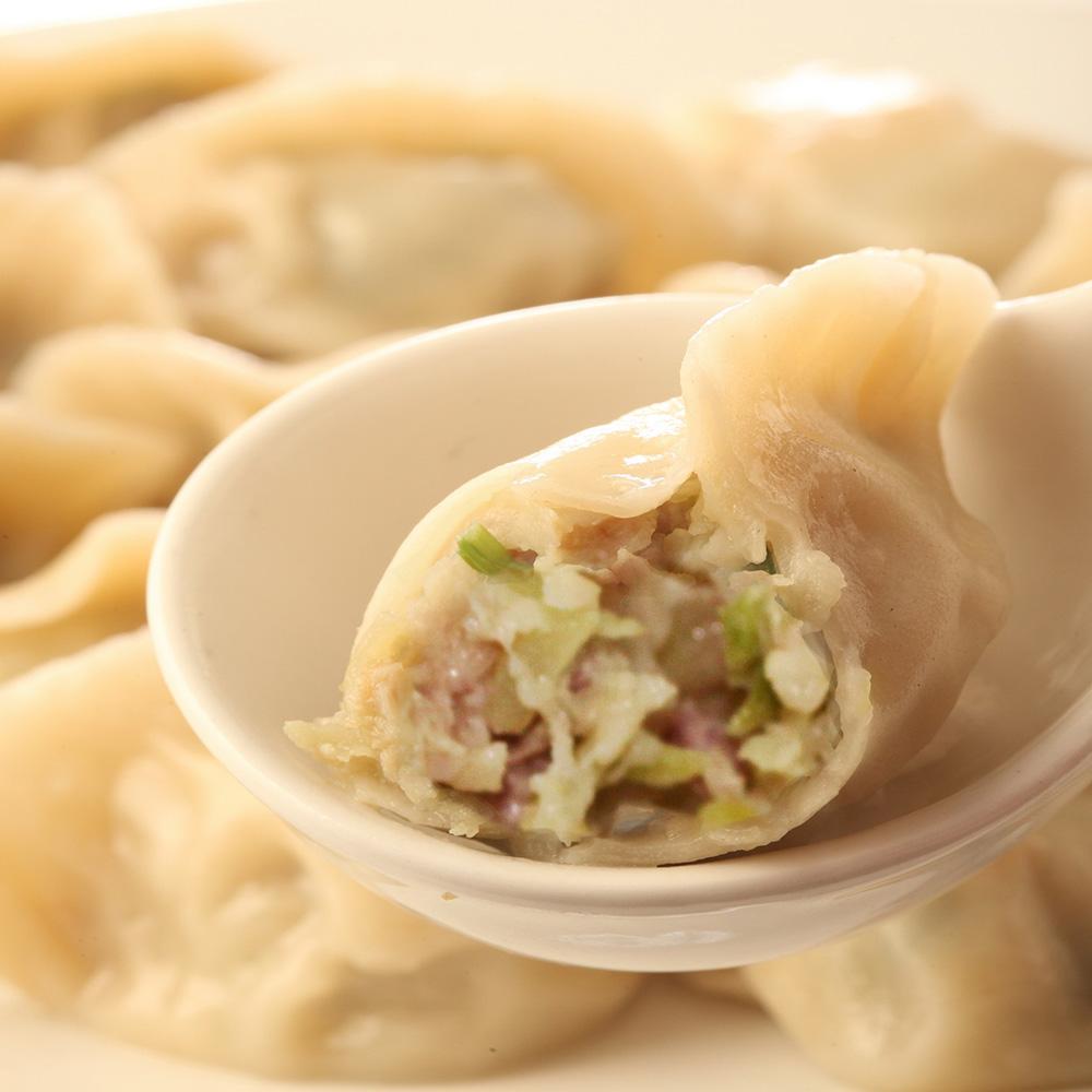 【張家大廚】家傳手工高麗菜豬肉水餃(250粒)