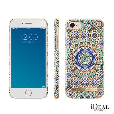 iDeal iPhone 6/7/8 瑞典北歐時尚手機保護殼-摩洛哥幾何藝術