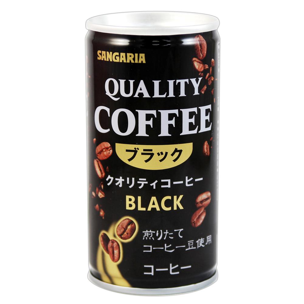 Sangaria QUALITY黑咖啡飲料(185gx6罐入)