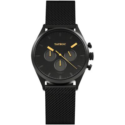 TAYROC 羅霸特三號時尚腕錶(TXM014M)-42mm