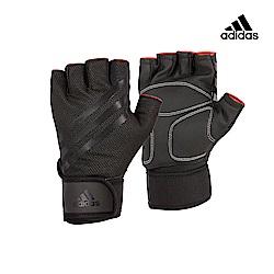 Adidas Training 進階加長防護手套 (內斂黑)